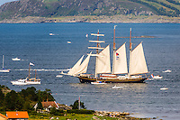 Norway, Randaberg. Tall Ships Race in Stavanger 2011. Gulden Leuww.
