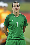 09 August 2008: Andreia (BRA).  The women's Olympic soccer team of Brazil defeated the women's Olympic soccer team of North Korea 2-1 at Shenyang Olympic Sports Center Wulihe Stadium in Shenyang, China in a Group F round-robin match in the Women's Olympic Football competition.