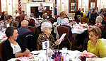 TORRINGTON CT. 26 April 2017-042617SV02-Joel Sekorski, director services for the elderly, thanks all the volunteers for attending a Recognition Breakfast at the Elks Club in Torrington Wednesday. The service for the Elderly department, Sullivan Senior Center and Nutrition program honored their Volunteers. <br /> Steven Valenti Republican-American