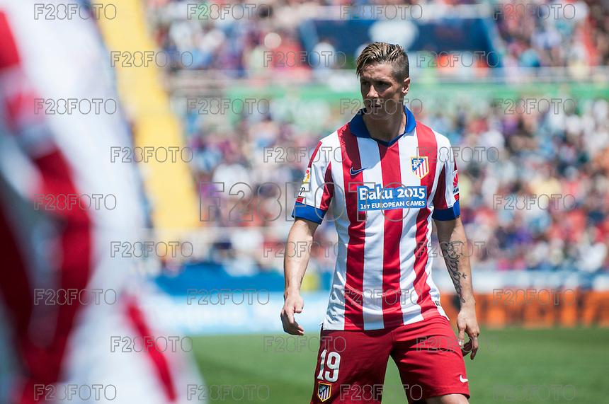Levante 2-2 Atletico Madrid (10-5-2015)