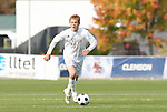 11 November 2008: NC State's Tyler Lassiter. North Carolina State University Wolfpack defeated the Virginia Tech Hokies 3-1 at Koka Booth Stadium at WakeMed Soccer Park in Cary, NC in a men's ACC tournament first round game.