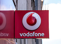Vodafone Mobile Phone Shop Sign - Aug 2013.