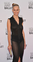 New York, NY- September 20: Anna Ewers  attends the New York City Ballet 2016 Fall Gala at David H. Koch Theater at Lincoln Center on September 20, 2016 in New York City@John Palmer / Media Punch