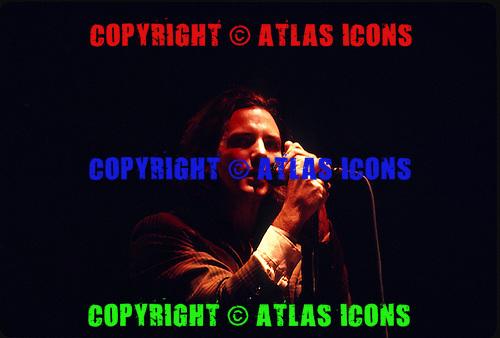 PEARL JAM: Live, Downing Stadium In New York City,.On September 28, 1996:.Photo Credit: Eddie Malluk/Atlas Icons.com