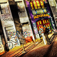 A Colombian man reads a message in front of the abandoned house, covered in painted graffiti artworks, in the center of Bogotá, Colombia, 18 February 2016. A social environment full of violence and inequality (making the street art an authentic form of expression), with a surprisingly liberal approach to the street art from Bogotá authorities, have given a rise to one of the most exciting and unique urban art scenes in the world. While it's technically not illegal to scrawl on Bogotá's walls, artists may take their time and paint in broad daylight, covering the walls of Bogotá not only in territory tags and primitive scrawls but in large, elaborate artworks with strong artistic style and concept. Bogotá has become an open-air gallery of contemporary street art.