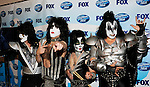 Kiss - Tommy Thayer, Paul Stanley, Eric Singer and Gene Simmons  at the 2009 American Idol Finale at the Nokia Theatre in Los Angeles, May 20th 2009...Photo by Chris Walter/Photofeatures