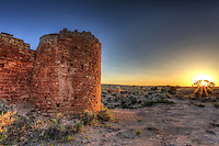 Hovenweep Castle Sunset - Utah - Hovenweep National Monument