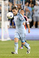 Bobby Convey (11) Sporting KC in action... Sporting Kansas City defeated New England Revolution 3-0 at LIVESTRONG Sporting Park, Kansas City, Kansas.