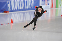 SPEED SKATING: STAVANGER: Sørmarka Arena, 31-01-2016, ISU World Cup, 3000m Ladies Division A, Josie Spence (CAN), ©photo Martin de Jong