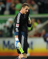 FUSSBALL   1. BUNDESLIGA   SAISON 2011/2012    5. SPIELTAG VfL Wolfsburg - FC Schalke 04                                  11.09.2011 Torwart Ralf FAEHRMANN (Schalke) ist nach dem Abpfiff enttaeuscht