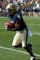 Pitt kick returner Cam Saddler. The Pittsburgh Panthers defeated the Rutgers Scarlet Knights 41-21 on October 23, 2010 at Heinz Field, Pittsburgh, Pennsylvania....
