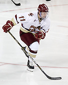 Pat Mullane (BC - 11) - The Boston College Eagles defeated the visiting University of Maine Black Bears 4-0 on Friday, November 19, 2010, at Conte Forum in Chestnut Hill, Massachusetts.