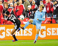 Sporting Kansas City defeated D.C. United 1-0 during the MLS home opener at the RFK Stadium in Washington, D.C. on Saturday, March 10, 2012. Alan P. Santos/DC Sports Box