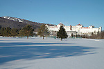 Mt. Washington, New Hampshire cross-country skiing trails and hotel