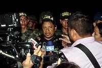 CUCUTA - COLOMBIA - 27 - 05 - 2016: Diego D´Pablos y Carlos Melo, periodistas de la ciudad de Cucuta, fueron liberados luego de permanecer secuestrados por el Ejercito de Liberacion Nacional (ELN), cuando cubrían la información sobre la desaparicion de la periodista Colombo- Española, Salud Hernandez, quien también fue secuestrada por el ELN, en la región de Catatumbo en el Departament de Norte de Santander, tanto D´Pablos, Melo y Hernandez señalaron que fueron tratados con respeto por parte de sus captores. / D'Pablos Diego and Carlos Melo, journalists from the city of Cucuta, were released after being kidnapped by the National Liberation Army (ELN), while covering the information on the disappearance of journalist Colombian-Spanish, Salud Hernandez, who also it was kidnapped by the ELN, in the region of Catatumbo in Norte de Santander Department, both D'Pablos, Melo and Hernandez indicated that they were treated with respect by their captors. / Photo: VizzorImage / Manuel Hernandez / Cont.