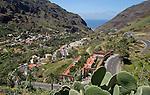 Road to Valle Gran Rey, La Gomera, Canary Islands.