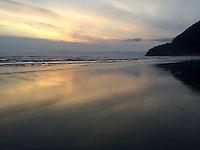 Manzanita Beach on the Oregon Coast