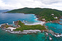 Aerial view of Botany Bay<br /> St. Thomas<br /> U.S. Virgin Islands