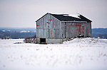 A collection of Barns that still can be seen while traveling the countryside in  the beautiful State of Wisconsin.<br />  	Dodge County- Barn no silo on County Hwy P south of State Road 60.