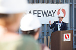 Ceremony marks start of Safeway store demolition
