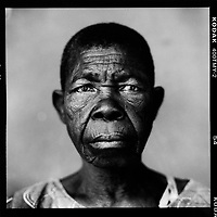 Victoril Lukadi, widow: 'My husband lost at a game of cards. He had to pay his debts and wanted to sell me to his opponent. I refused and fled from Kasumba. My husband then went to my family and demanded five goats as compensation. That made my family cross and I can't go back until I have paid back the value of the five goats.'...