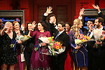 'In Transit' - Opening Night Curtain Call
