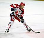 Eishockey Deutscher Eishockey-Pokal Arena Nuernberg (Germany) Halbfinale Nuernberg IceTigers - Adler Mannheim (1:5) Marc Savard (Nuernberg) am Puck