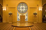 Nevada, NV, Las Vegas, city, wedding chapel, Tuscano, Caesars Palace Hotel and Casino, altar, stained glass, Photo nv274-18253..Copyright: Lee Foster, www.fostertravel.com, 510-549-2202,lee@fostertravel.com