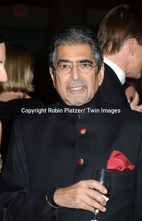 Sonny Mehta attends the 2012 National Book Awards Dinner and Ceremony on November 14, 2012 at Cipriani Wall Street in New York City.