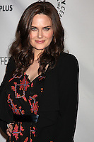 "LOS ANGELES - MAR 8:  Emily Deschanel arrives at the ""Bones"" Event at PaleyFest 2012 at the Saban Theater on March 8, 2012 in Los Angeles, CA"