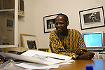 Youssouf Sanogo, director of the CFP / BAMAKO, MALI, JAN 2006 / ANTOINE DOYEN