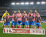 Liga BBVA. Atlético de Madrid (2) vs (1) Athletic de Bilbao. Vicente Calderón Stadium