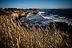 Pacific Ocean vista from Gualala Point Regional Park in Gualala, Calif., on July 3, 2011.