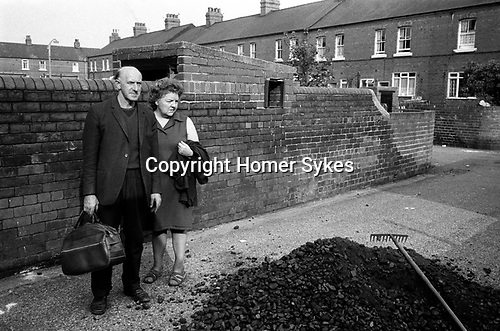 Free coal supply for mining families. South Kirkby Colliery, Yorkshire England. Coal Miners story 1979. IF YOU KNOW THE NAMES OF ANY OF THESE PEOPLE I WOULD LIKE TO BE ABLE TOP PUT A NAME TO A FACE