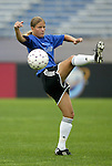1 August 2003: Dagny Mellgren of Norway. The Boston Breakers defeated the New York Power 3-2 at Mitchel Field in Uniondale, NY in a regular season WUSA game..Mandatory Credit: Scott Bales/Icon SMI