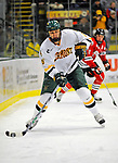19 January 2008: University of Vermont Catamounts' forward Brayden Irwin, a Sophomore from Toronto, Ontario, in action against the Northeastern University Huskies at Gutterson Fieldhouse in Burlington, Vermont. The Catamounts defeated the Huskies 5-2 to close out their 2-game weekend series...Mandatory Photo Credit: Ed Wolfstein Photo