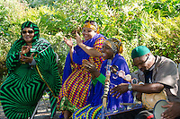 Musicians performing at Somali Bantu Harvest Festival, New Gloucester Maine