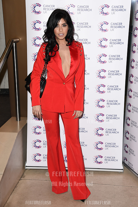 Cara De La Hoyde arriving at James Ingham&rsquo;s Jog On to Cancer, in aid of Cancer Research UK at The Roof Gardens in Kensington, London.  <br /> 12 April  2017<br /> Picture: Steve Vas/Featureflash/SilverHub 0208 004 5359 sales@silverhubmedia.com