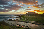 Sunset on the East side of Oahu, Allen Davis.