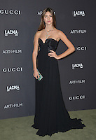LOS ANGELES, CA. October 29, 2016: Model Helena Gatsby at the 2016 LACMA Art+Film Gala at the Los Angeles County Museum of Art.<br /> Picture: Paul Smith/Featureflash/SilverHub 0208 004 5359/ 07711 972644 Editors@silverhubmedia.com