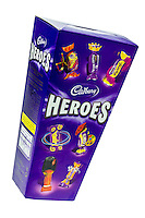 Box of Cadbury Heroes Chocolates - Nov 2013.