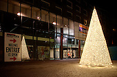 Sfeerverlichting winkelcentrum Nieuw Zaailand en Ruiterskwartier, centrum Leeuwarden
