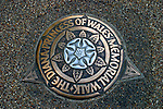 United Kingdom, Great Britain; England; London. Marker for The Diana Princess of Wales Memorial Walk.