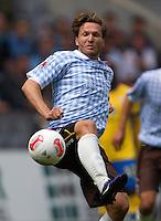 Fussball 2. Bundesliga:  Saison   2012/2013,    6. Spieltag  TSV 1860 Muenchen - Eintracht Braunschweig  23.09.2012 Benjamin Lauth (1860 Muenchen)