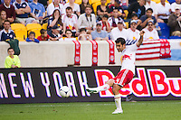 Rafa Marquez (4) of the New York Red Bulls. The New York Red Bulls and CD Chivas USA played to a 1-1 tie during a Major League Soccer (MLS) match at Red Bull Arena in Harrison, NJ, on May 23, 2012.