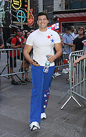 NEW YORK, NY-August 08: Gio Benitez at Good Morning America going for GMA Olympic Gold in New York. NY August 08, 2016. Credit:RW/MediaPunch