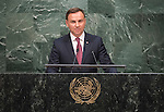Address by His Excellency Andrzej Duda, President of the Republic of Poland