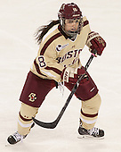 Julie Fish (BC - 18) - The Boston College Eagles defeated the visiting University of Maine Black Bears 5 to 1 on Sunday, October 6, 2013, in their Hockey East season opener at Kelley Rink in Conte Forum in Chestnut Hill, Massachusetts.