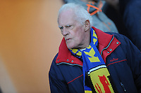 VOETBAL: LEEUWARDEN: 21-04-2016, Cambuurstadion, SC Cambuur - Willem II, uitslag 1-1, Cambuursupporter, foto Martin de Jong