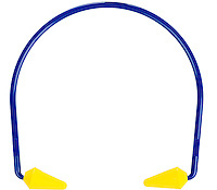 objects to protect from deafness on a white background